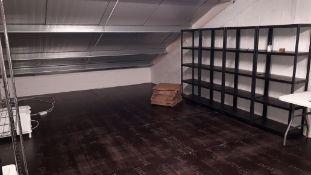 Contents of Mezzanine Floor to include 5 x Bays Pl