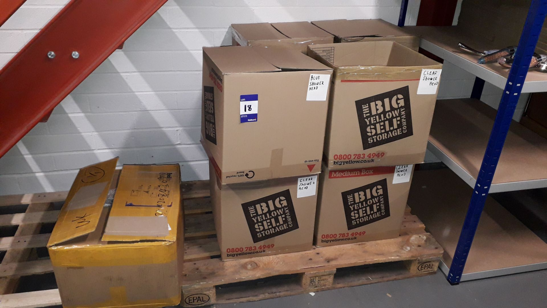 9 x Boxes Containing Approx. 750 Various Shower He