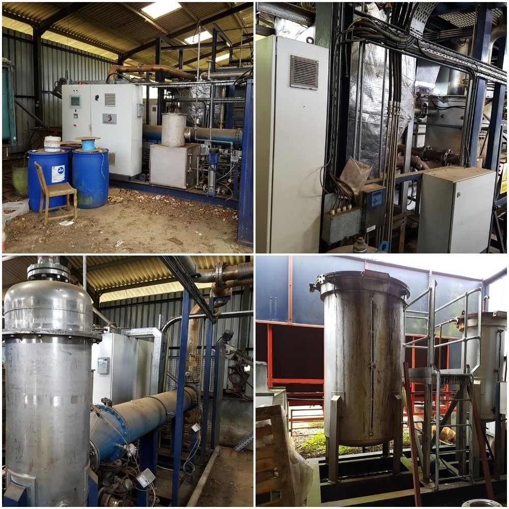 Elements of a 250kW Wood Gasification Plant