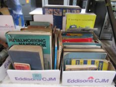2 boxes of various Model Making and Metal Working Books and Pamphlets