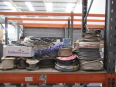 Quantity of Various Electrical Cable Reels