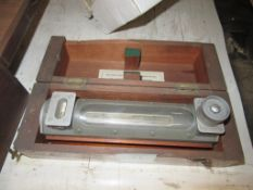 Cooke Troughton and Simms LTD Machine Spirit Level Serial EO.93576 in Wood Case