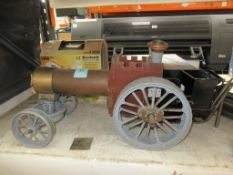 Unfinished Model Steam Engine Project
