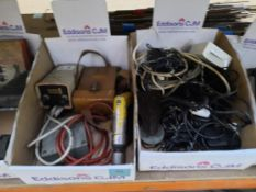 Box of Electrical Model items