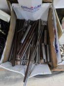 Box of Metal Rods
