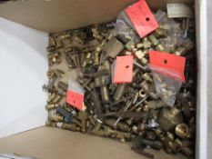 Box to contain various Brass Valves and Couplings