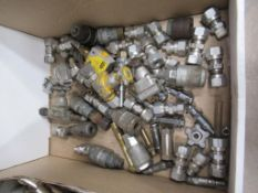 Box to contain various Pneumatic/ Steam Valves and Couplings