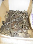 Box to contain various Open Ended and Ring Spanners