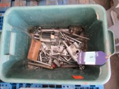 Various Engineering Machine Cutters etc to crate