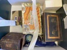 Miscellaneous Collectables, Coins, Ronson Lighters, Omega Box, Unusual Victorian 'Story without word