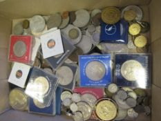 Antique and Later Coinage to include Silver and Victorian Samples. A Large Quantity of Crowns etc
