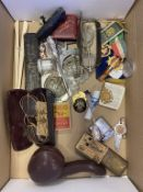 Victorian Medal, Antique Spectacles, Boxed Silver & Amber Sheroot Holder Meerchaum Pipe Cases, Music