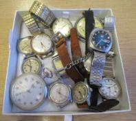 Vintage Watches Marked: Seiko, enicar Miai, Avene, Rotary, Smiths, Mappin & Webb, Romona