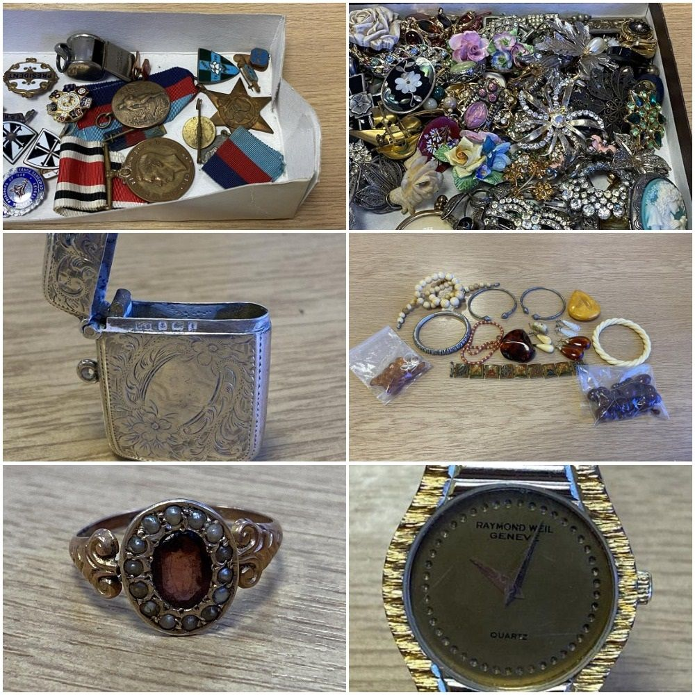 Large Collection of Vintage and Antique Jewellery, Silver and Costume Jewellery