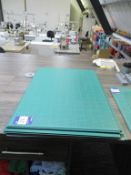 14x A1 Sewing Measuring Mats, Qty of Rulers, Sewing Weights etc