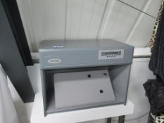 A Verivide CAC 60 Colour Assessment Cabinet with Table