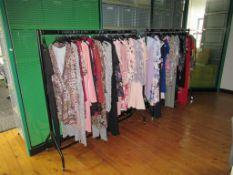 12x Various Mobile Clothes Rails