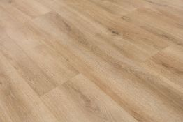 NEW 14.34m2 LAMINATE FLOORING SUMMER NATURAL OAK. With a warming natural oak tone, this floor is