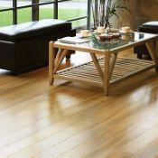 New 7.26m2 Scherzo Natural Gloss Walnut effect Laminate Flooring. Suitable for busy & splash areas
