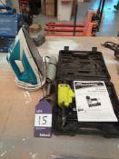 Draper Stormforce Air Stapler, Mixer & Iron