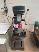 Bench Drill with Machine Vice