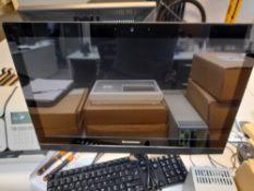 """Lenovo F0AV 23.8"""" touchscreen all-in-one computer"""