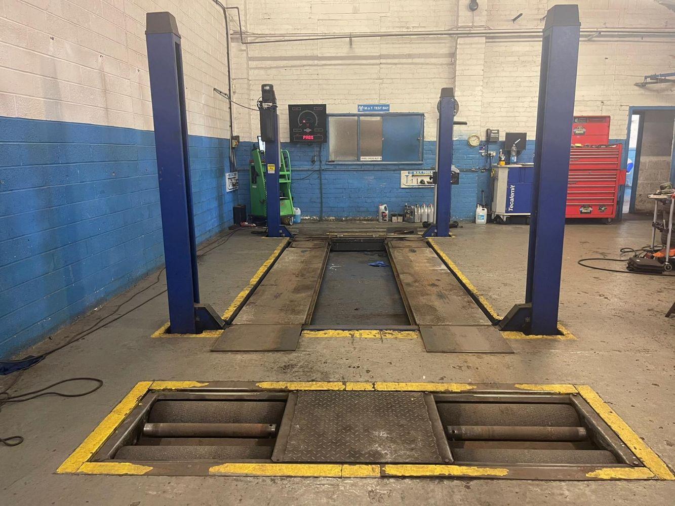 Short Notice Sale - The Assets of an MOT Garage and Workshop