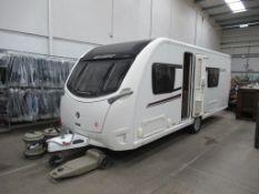 A 2015 Swift Conqueror 570 Model 4-berth Caravan
