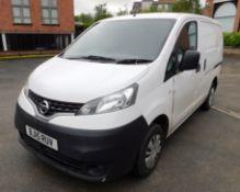 Nissan M20N NV200 Acenta 1.5 DCI Van, registration BJ15 RUV, First Registered 31 March 2015, V5