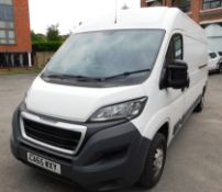 Peugeot Boxer 335 Professional L3H2HDI Panel Van, Registration CA65 WXY, First Registered January