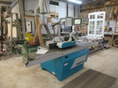 A 2013 Otto Martin T27 Spindle Moulder with Wegoma Variomatic 4N Power Feed