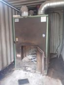 Talbott T500 Industrial Wood waste heater/burner