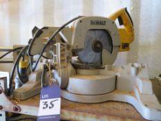 DeWalt DW707-LX Cross Cut Saw
