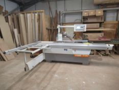 A 2011 SCM MC Casadei Type SC400 Sliding Table Panel Saw
