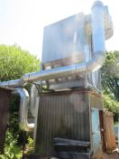 WWC Extraction System with Falach 50 Briquette Machine