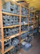 Content of the Container to include Large qty of Various Hinges, Door Stops, Locks, etc.