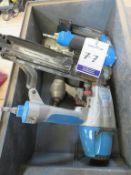Qty of Fasco Pneumatic Pin and Staple Guns