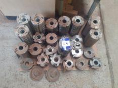 Qty of assorted Moulder Cutter Blocks