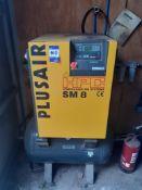 HPC SM8 10 Bar Rotary Screw Compressor