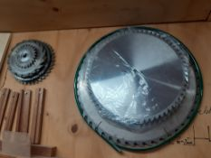 Qty of Assorted Saw Blades