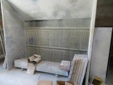 Richmond Galvanized Steel Spray Booth
