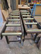 2 x Roller Conveyors