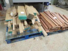 Qty of Assorted Wood Off Cuts