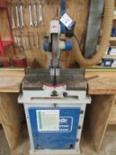 Omga Redi T50-350 Heavy Duty Mitre Saw with two wooden tables