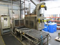 Silicon Systems 800 x 8000mm Expander Polystyrene Moulding Oven with cooling chamber, conveyor and