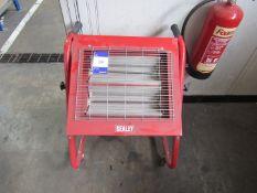 Sealey Infra-Red Halogen Mobile Heater