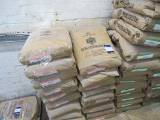 19 Bags Imerys Refractory Minerals Molochite 3080DD H110/W 25kg