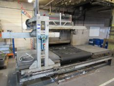 Silicon Systems 1200 x 1200 Expanded Polystyrene Moulding Oven with mould manipulation grip