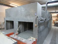 Mindon Engineering 109kw Twin tunnel Drying Oven, 5000kg