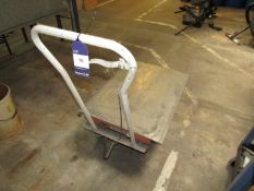 Treadle Operated Mobile Cart, 250kw swl